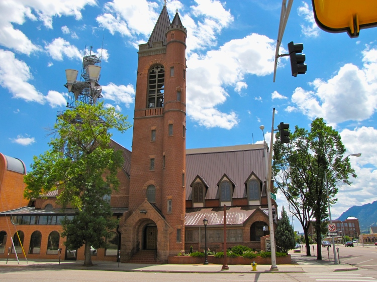 St Mary's Cathedral, Colorado Springs, Co